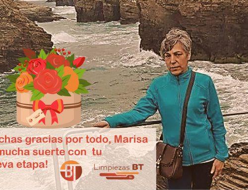 Nuestros mejores deseos para Marisa