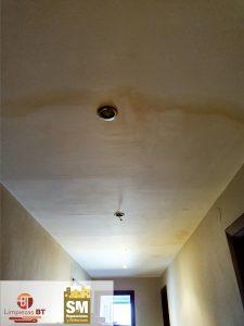 reparacion pintura techo par 8edes antes